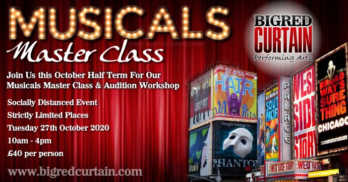 Musicals Master Class Leeds October Half Term